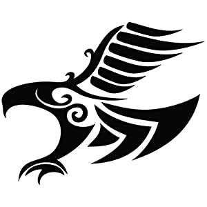 Eagle Symbol - Animal Decal Vinyl Car Wall Laptop Cellphone Sticker