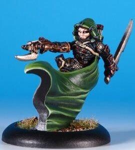 Privateer Press Mercenaries - Eiryss Mage Hunter Model Kit