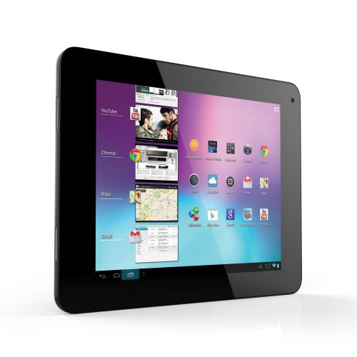 Coby 8-inch GMS Android 4.0 8GB Internet Tablet 4:3 Capacitive Multi-Touch screen with Built-in Camera, Black (MID8065-8)