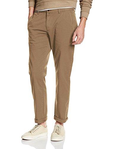 Gant Regular Comfort Chino-Pantaloni Uomo    Beige (Khaki Beige) W36/L32