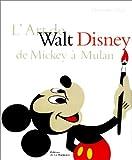 echange, troc Christopher Finch - L'Art de Walt Disney de Mickey à Mulan