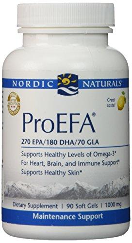 Nordic Naturals ProEFA 90 lemon softgels