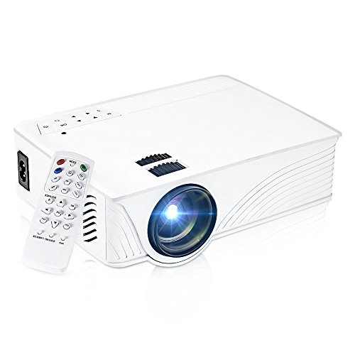 Projector, GBTIGER 2000 Lumens LED 3D Projector Full HD 1080P Portable Multimedia Mini Home Theater Movie Video...