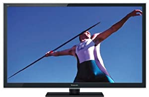 Panasonic VIERA TC-L55ET5 55-Inch 1080p 120Hz 3D Full HD IPS LED-LCD TV with 4 Pairs of Polarized 3D Glasses