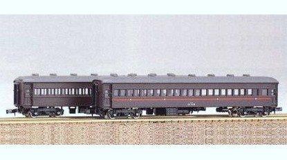 Nゲージ 115 スハ32 2輌セット (未塗装車体キット)