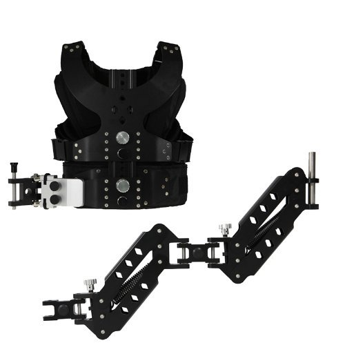 CamSmart Load Vest Steady Cam Rig Stabilizer Rig Double Arm DSLR Camera Video Support SLR Black Friday & Cyber Monday 2014