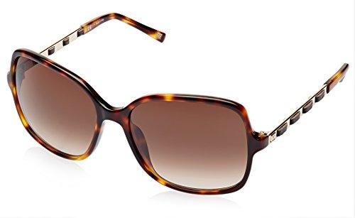 Escada Escada Rectangular Sunglasses (Demi Brown) (SES 273|0748|58)