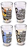 Hangover/Pint Glass Set 4-Pack