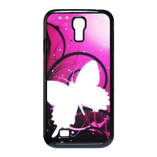 Generic Cell Phone Cases Cover For Samsung Galaxy S4 Case I9500 Case Fashionable Art Designed With Beautiful Butterfly - K Personalized Shell front-962488