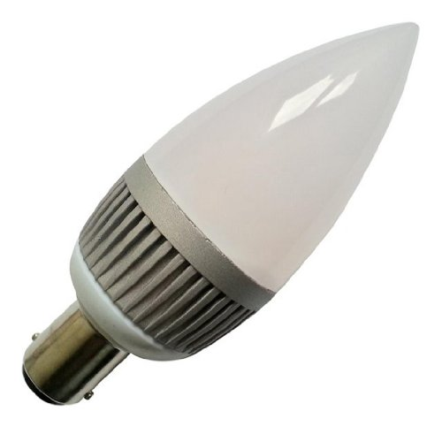 Candle Shape 30w Dimmable LumiLife 5 Watt E14 LED Warm White Frosted