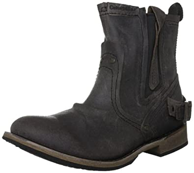 Amazon.com: CAT Caterpillar Vinson Chocolate Brown Mens Boots US Size