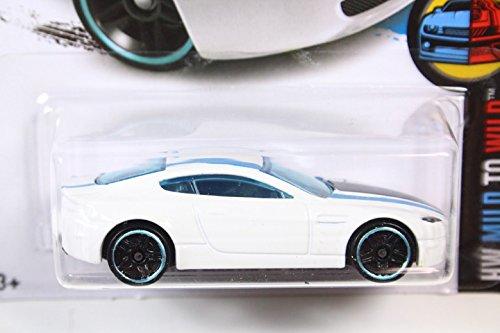 ホットウィール 2016 #056 アストンマーチン V8 ヴァンテージ ホワイト [並行輸入品]