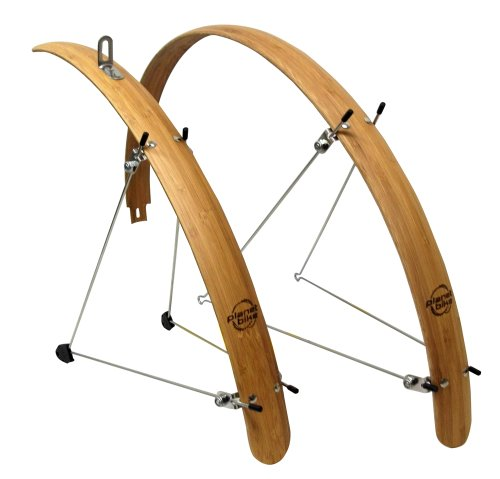 Planet Bike Hybrid Grasshopper Bamboo Fenders (45 mm Wide)
