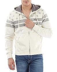 U.S.Polo.Assn. Men's Cotton Sweatshirt (8907259139289_USSS0505_M _Ivory)