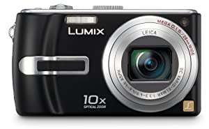 Panasonic Lumix DMC-TZ3K 7.2MP Digital Camera with 10x Optical Image Stabilized Zoom (Black)