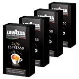 Lavazza Caffè Espresso, ground, Pack of 4, 4 x 250g