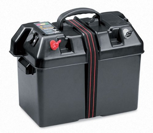 Minn Kota Trolling Motor Power Center - Black/Red
