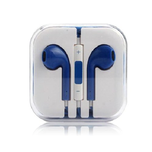 Thinkcase 3.5Mm Earphone Earbud Headphones With Remote & Mic For Iphone 4S 5 5C Ipod Others Device 03#