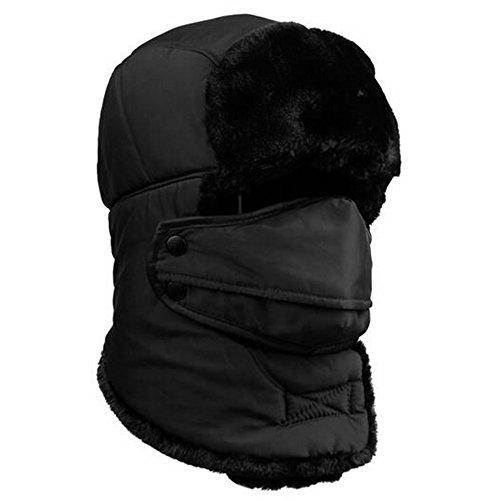 eizur-unisex-winter-trooper-hat-ear-flap-warm-bomber-hat-trapper-pilot-cap-ushanka-russian-style-wit