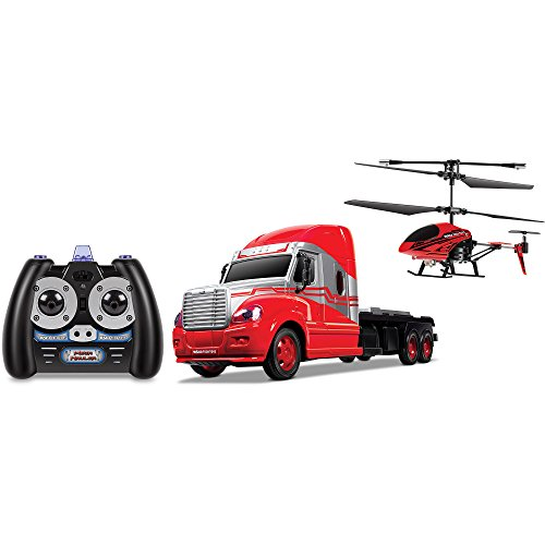 World Tech Mega Transport Hauler Helicopter and Toy Truck Combo Set for Boys (Pixar Cars Color Shifters compare prices)