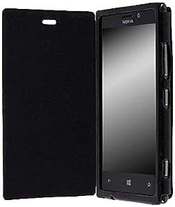 Krusell Booklet Donso Etui pour Nokia Lumia 925 Noir