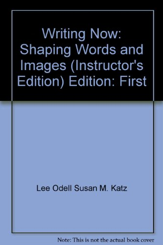 Writing Now: Shaping Words and Images