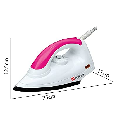 Cello Gloria 1000-Watt Dry Iron (Pink)