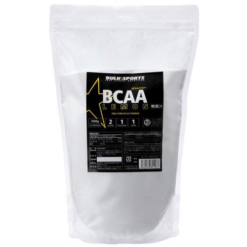 バルクスポーツ BCAAパウダー 500g レモン