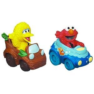 Sesame Street Elmo and Big Bird Playskool Racers