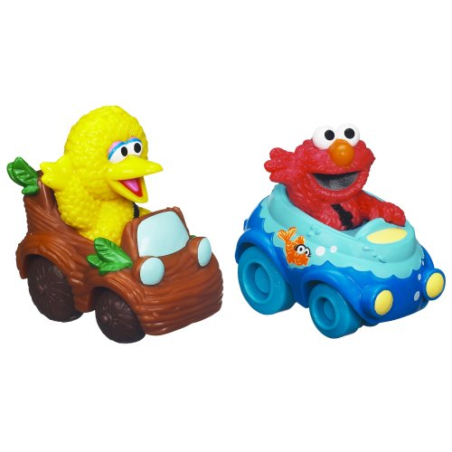 Sesame Street Elmo and Big Bird Playskool Racers - 1