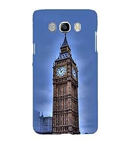 Printvisa Big Ben Clock In London Back Case Cover for Samsung Galaxy J7 (2016)::Samsung J710F