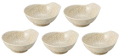 萬古焼 銀峯陶器 貫入 とんすい 5個セット