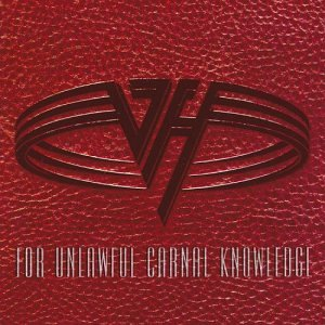 Original album cover of For Unlawful Carnal Knowledge by Van Halen