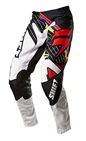 Pantalon Motocross Shift 2015 Strike Stripes Noir