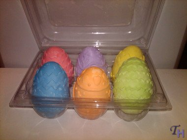 Russ Berrie Easter Egg Chalk Set