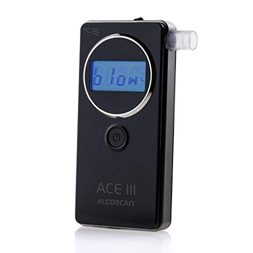 ACE ACE III Lot de 1 testeur d'alcoolémie Mesure conforme aux normes policières allemandes
