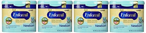 Enfamil Newborn Baby Formula - Powder - 22.2 oz - 4 pk - 1
