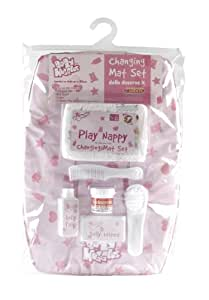 Casdon 712 Baby Huggles Dolls Changing Mat Set