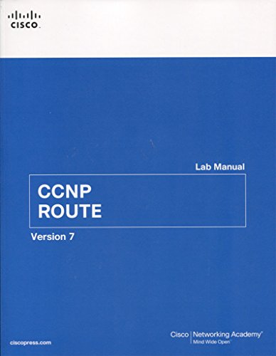 CCNP ROUTE Lab Manual (Lab Companion)