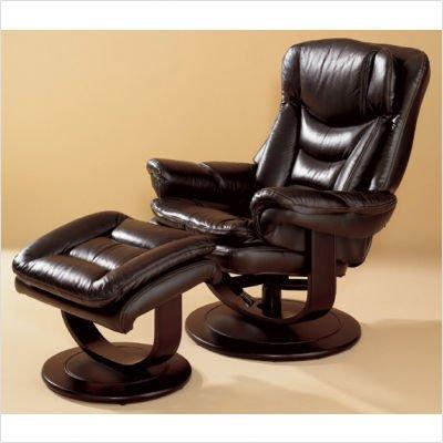 Impulse Leather Essentials Ergonomic Recliner Leather: Putty