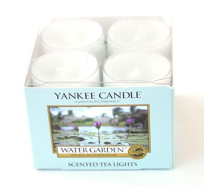 Water Garden Tea Light Candles - Yankee Candle