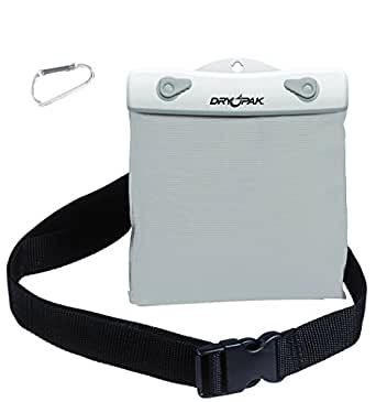 "DRY PAK DP-65W White/Gray 6"" x 5"" Waterproof Belt Pack"
