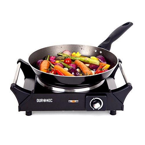 Duronic HP1BK Portable Electric Hot Plate