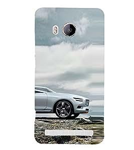 Futuristic Car design 3D Hard Polycarbonate Designer Back Case Cover for Vivo Xshot
