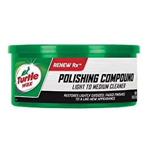 Turtle Wax T241A T-241A Polishing Compound & Scratch Remover - 10.5 oz.