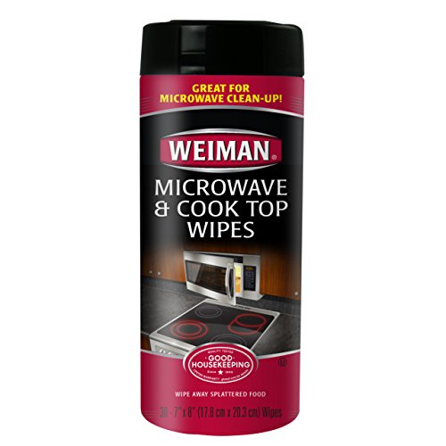 Weiman Microwave & Cook Top Wipes, 30 count (Pack of 4) (Microwave Stove Top compare prices)
