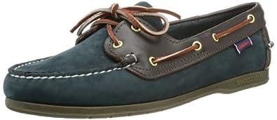 Sebago Womens Victory Boat Shoes B52026 multi-coloured - Mehrfarbig (NAVY/WINE) 3 UK, 35.5 EU, 5.5 US, Wide