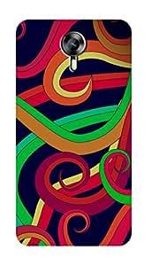SWAG my CASE PRINTED BACK COVER FOR MICROMAX CANVAS XPRESS 2 E313 Multicolor