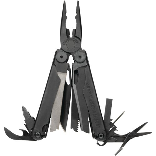 Leatherman Wave Black Oxide Finish Multi Tool with Nylon MOLLE Sheath , 830246