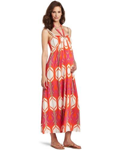 Olian Women's Maternity Nora Maxi Dress